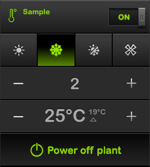 Go to home automation climate control & C-Bus thermostats page.